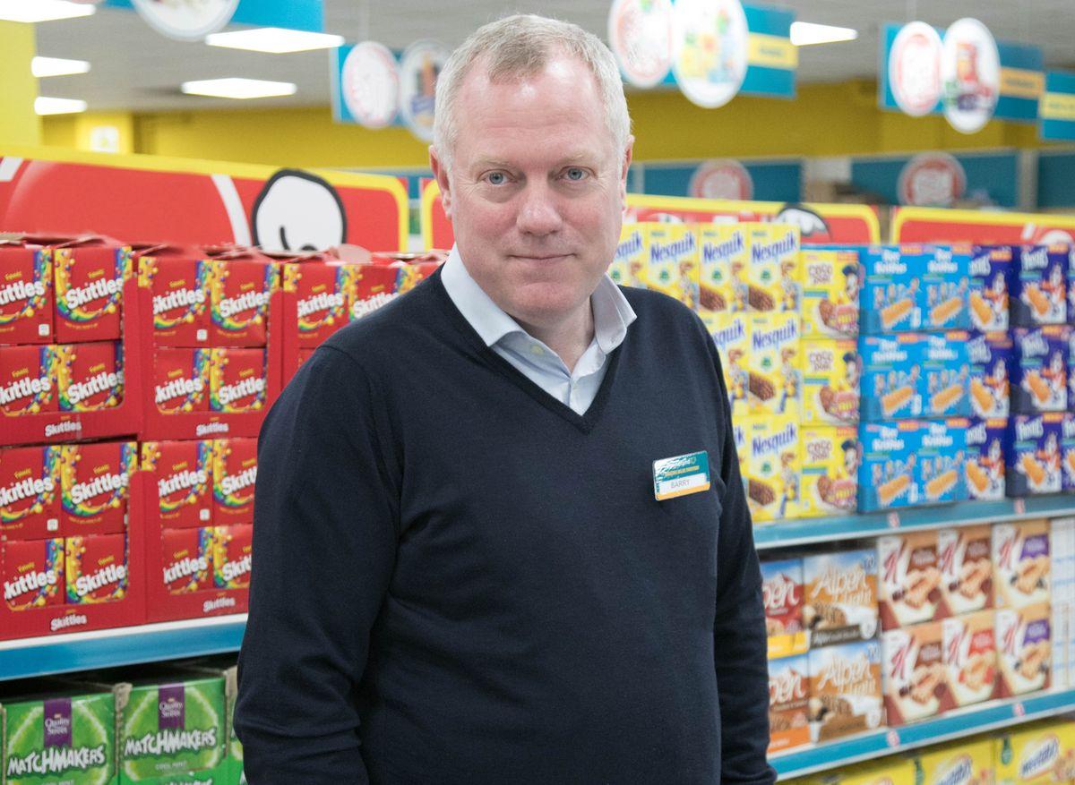 Poundland managing director Barry Williams