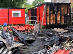 Pelsall football club fights back after arson attack