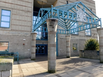 Yob locked up for attack on couple as car damaged