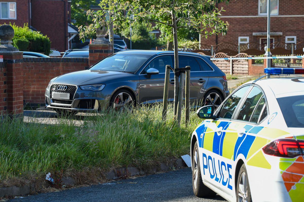 The scene in Birmingham. Pic: SnapperSK