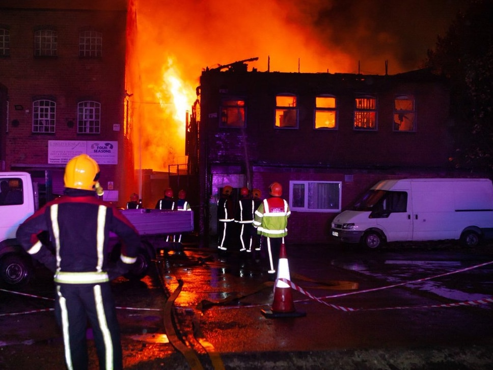 Wolverhampton recording studio destroyed by fire gets helping hand