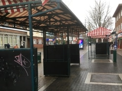 'High rent and poor stalls' could mean death of Wednesfield market