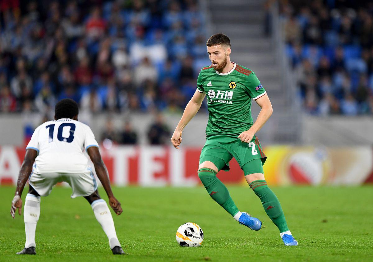 Matt Doherty of Wolverhampton Wanderers. (AMA/Sam Bagnall)