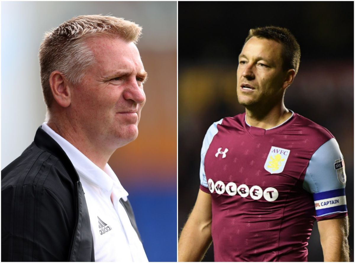 Dean Smith and John Terry have been appointed at Aston Villa (AMA/Sam Bagnall)