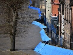 Ironbridge residents urged to leave homes as flood barriers overwhelmed