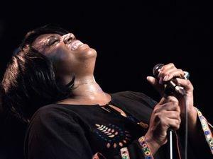 Soul legend Mica Paris. Photo by John Watson.