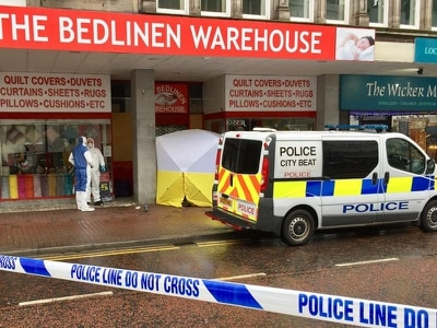 Homeless man found dead on busy Belfast shopping street