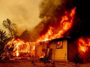 Wildfire in California