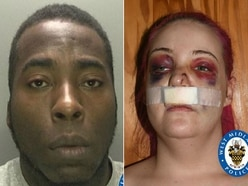 'He has ruined my life': Jail for vicious thug who smashed girlfriend's head through car window