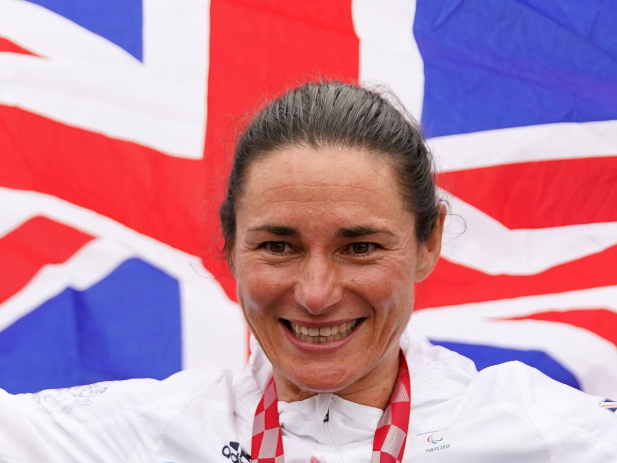 Great Britain's Sarah Storey will attempt to make more history on Thursday