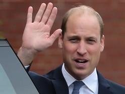LIVE: Prince William visits Stourbridge to unveil Frank Foley statue