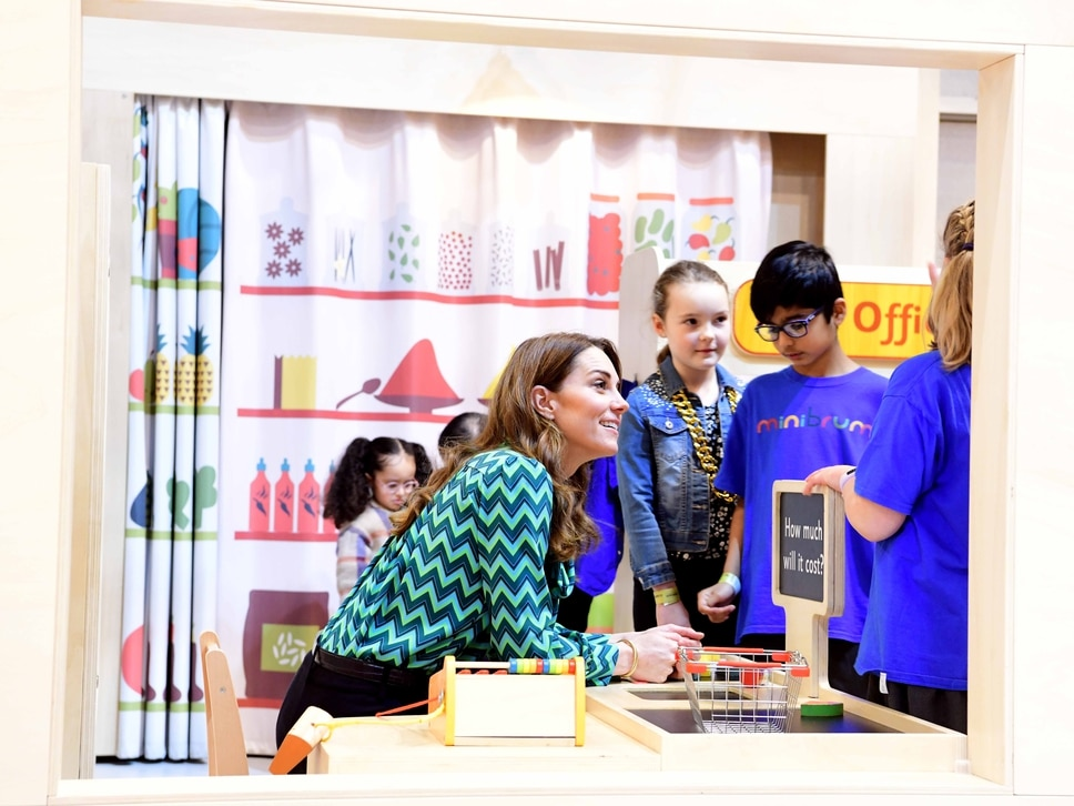 Duchess of Cambridge launches new survey at Birmingham Thinktank - in pictures