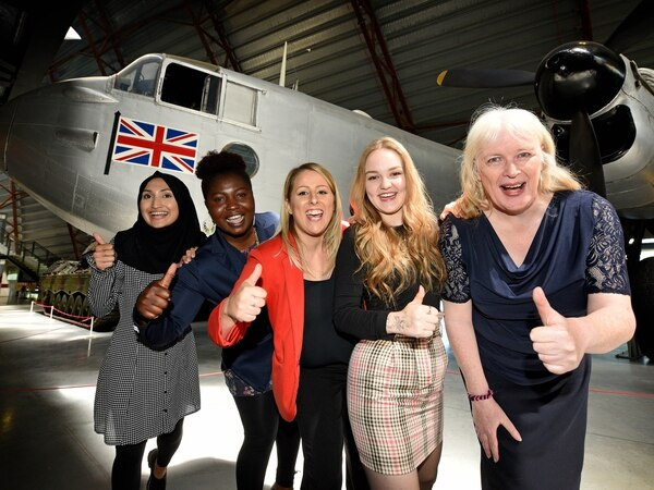 Pupils flying high at RAF event