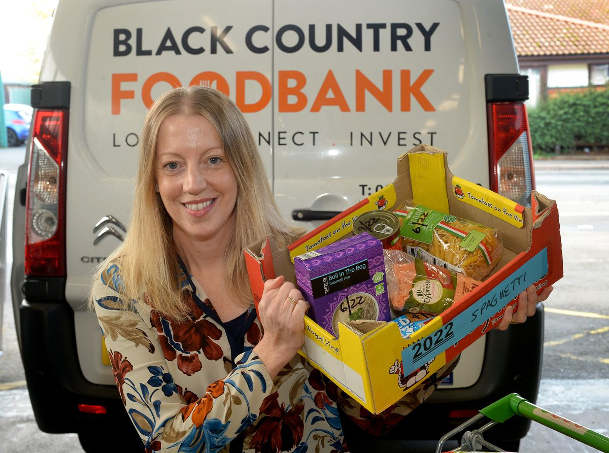 Jen Coleman from Black Country Food Bank says the pandemic has shone a light on the problems many people are facing.
