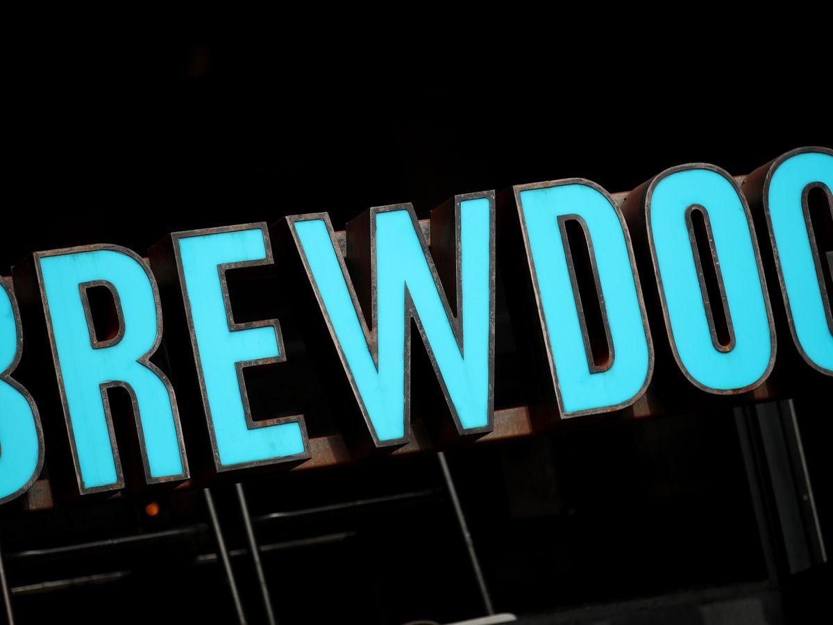 A BrewDog bar sign