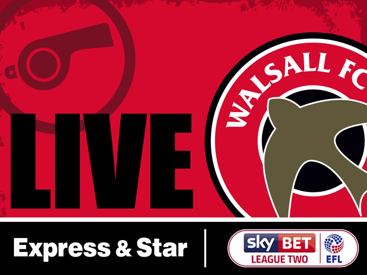 Walsall v Crawley - LIVE