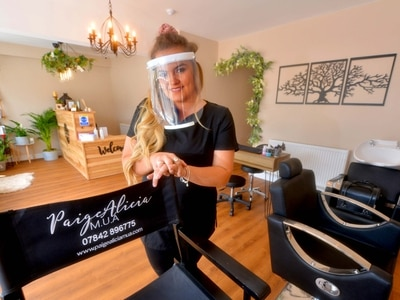 Beauty salons back open but easing still 'not enough' for some businesses to survive