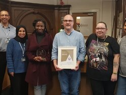 Community project honoured with mental health award win