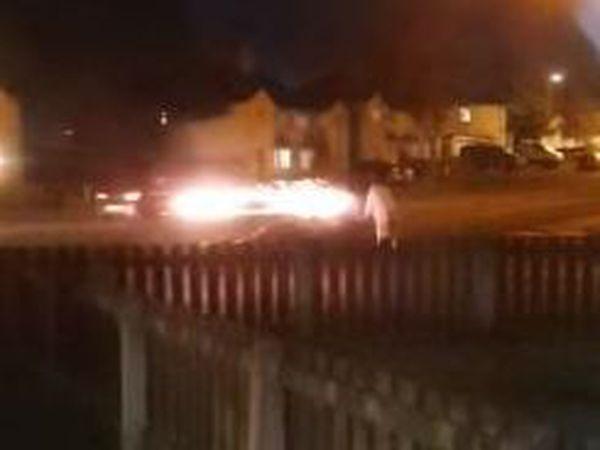 The scene of the incident. Photo: Jane Stevenson