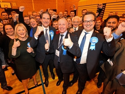 Dudley General Election 2019 results: Borough is blue as Longhi replaces Austin