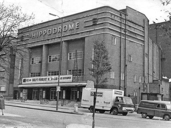Dudley Hippodrome, 1970.