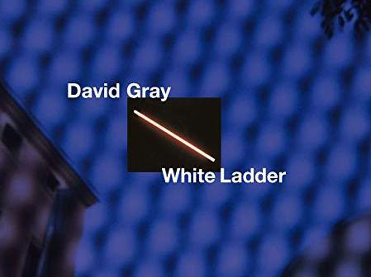 The 20th anniversary cover for David Gray's White Ladder
