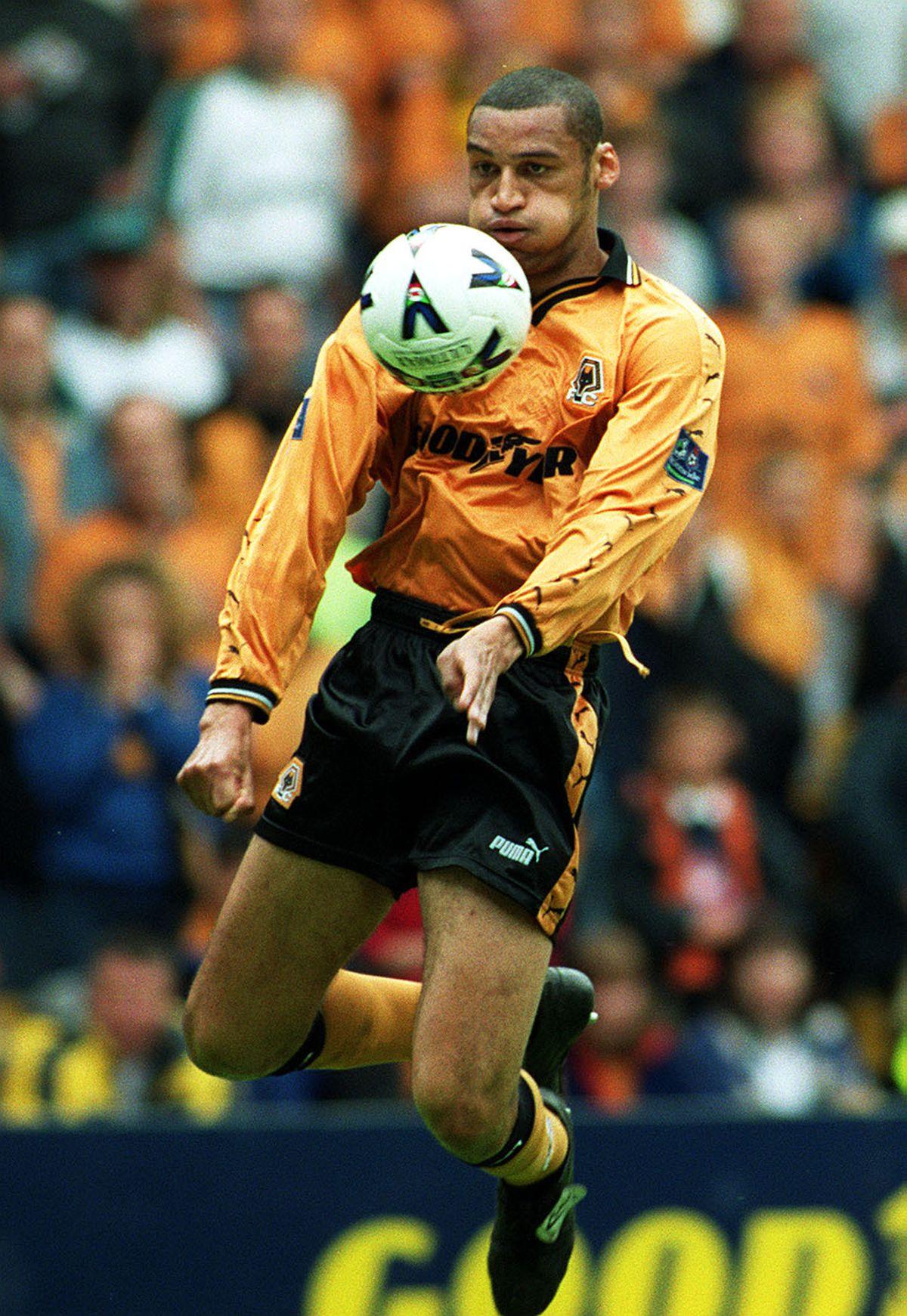 Wolves' Dean Richards.