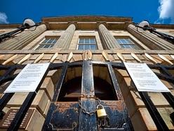 Farewell vigil as Stafford's Shire Hall locked up