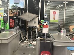 Cash strewn across Co-op store after raiders with power tools steal cash machine
