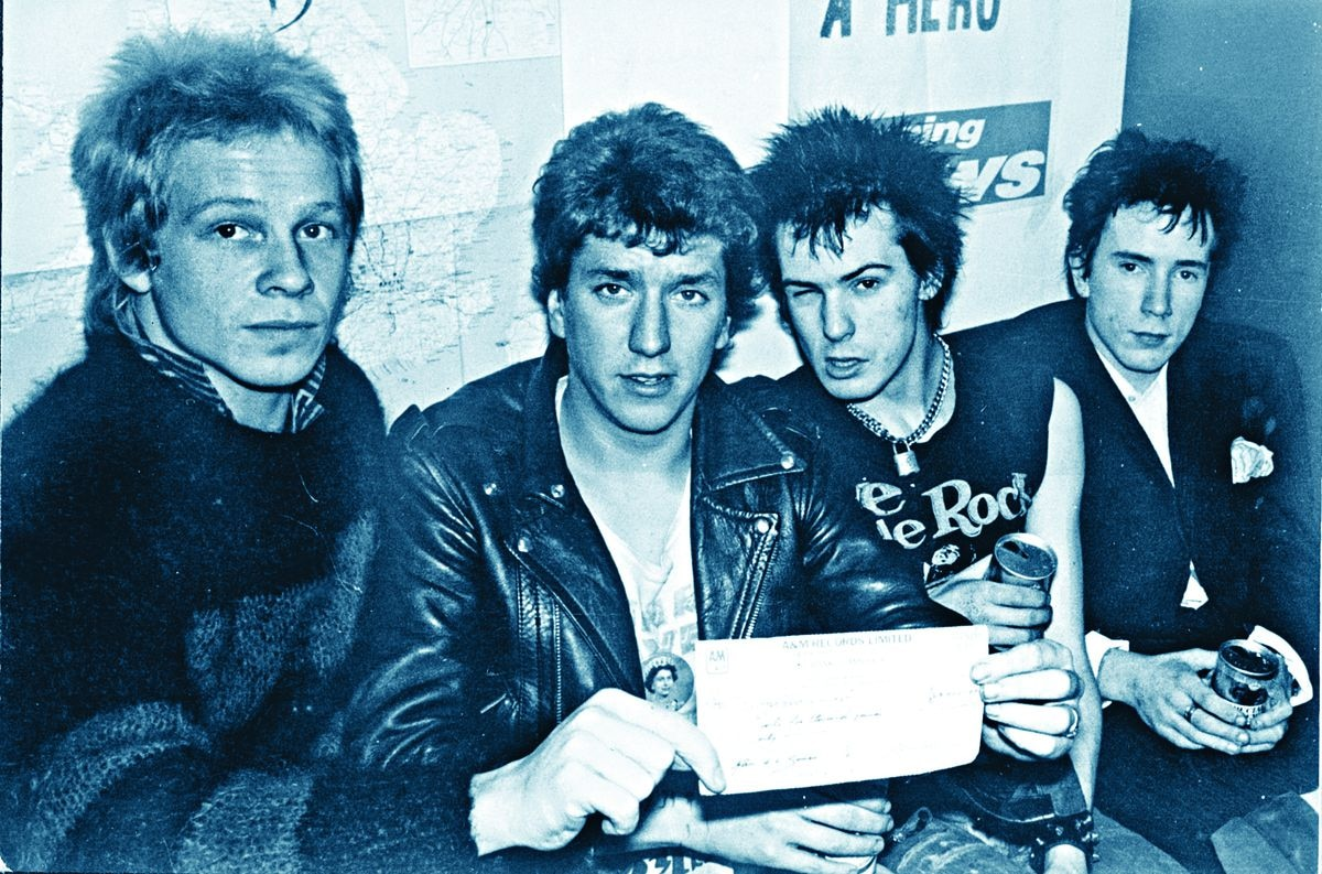 The Sex Pistols appeared at the Laff in the 70s