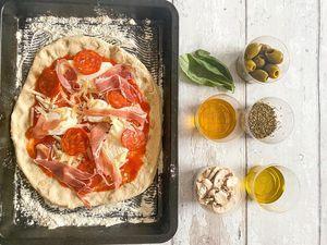 The pizza box recipe kit