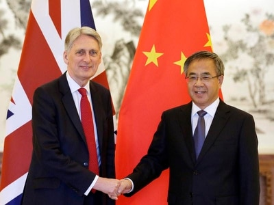 London the partner of choice for China's infrastructure plans, says Hammond
