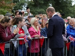 LIVE: Prince William visits Stourbridge to unveil Frank Foley statue – with PICTURES