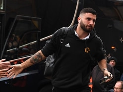 Wolves striker Patrick Cutrone not expected to feature this month