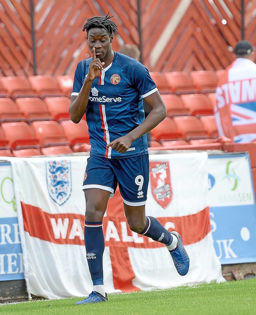 Elijah Adebayo happy to have a home at Walsall