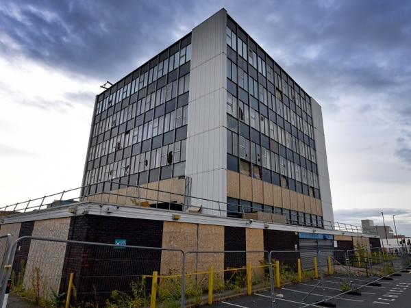 'Irresponsible and illegal': Old Walsall police HQ being used as playground