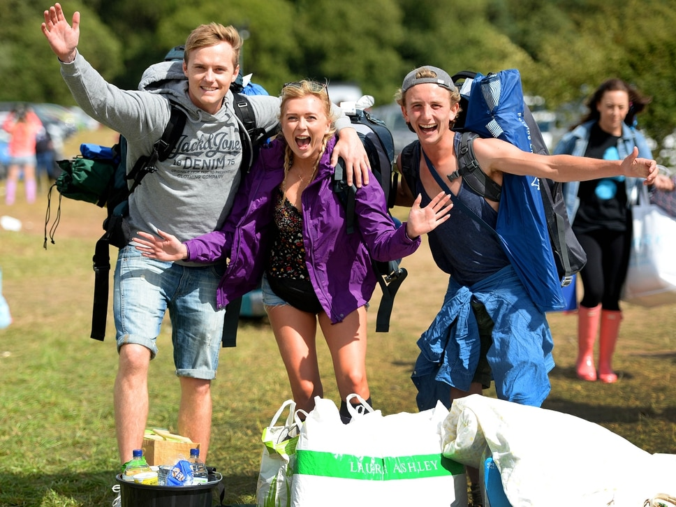 V Festival day one LIVE: Thousands head to Weston Park