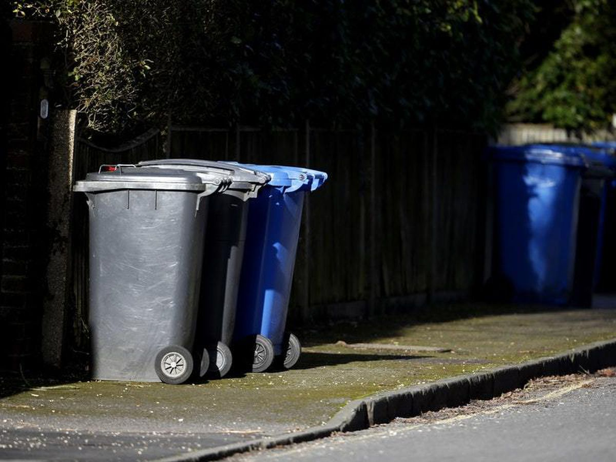 Bin collections have changed in many areas due to coronavirus (Steve Parsons/PA)