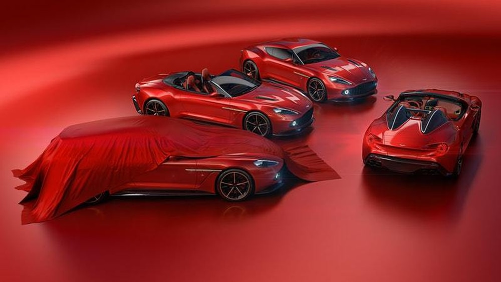 Aston Martin reveals Vanquish Zagato Speedster and Shooting Brake