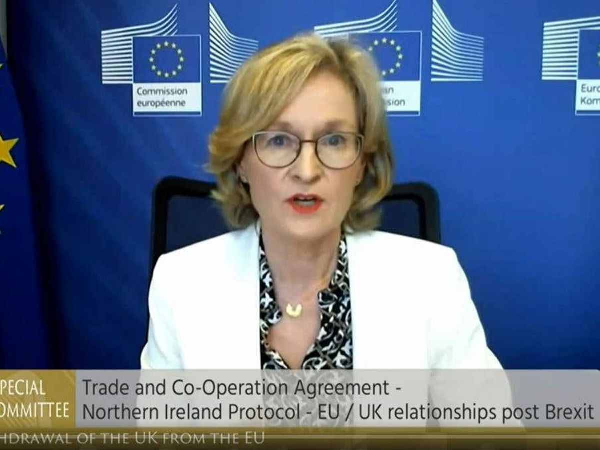 EU would 'react firmly' to UK unilateral action, Irish commissioner says