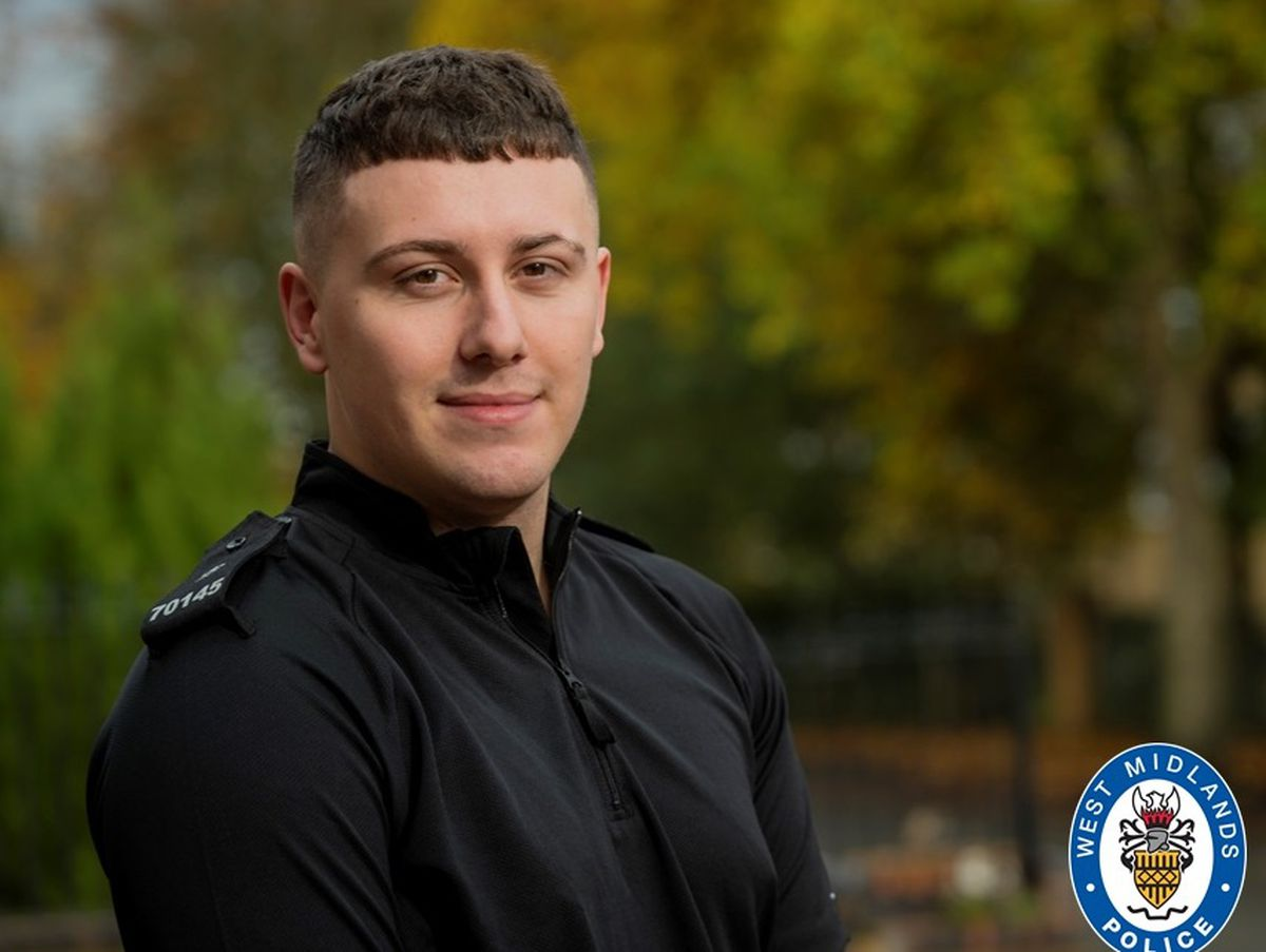 Ryan Malton is combining his university studies with being a volunteer police Special