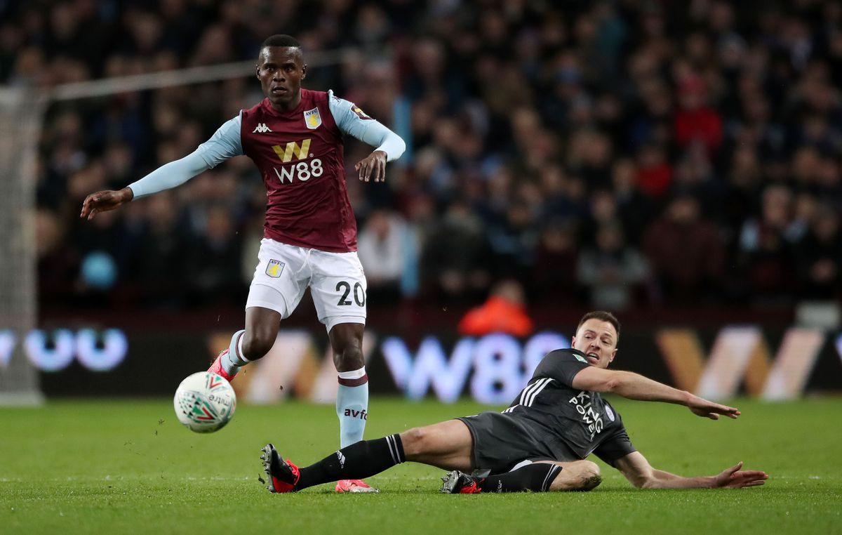 Aston Villa's Mbwana Samatta