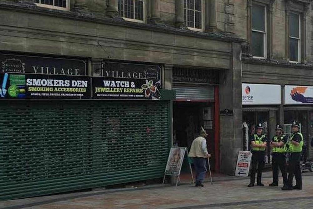 Legal highs: Man arrested after Wolverhampton city centre tobacco