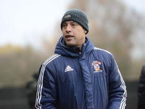 Sporting Khalsa manager Ian Rowe