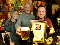 Punters unite to celebrate Stourbridge pub's win