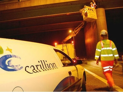 French civil engineering group secures 95 Carillion motorway jobs on M40