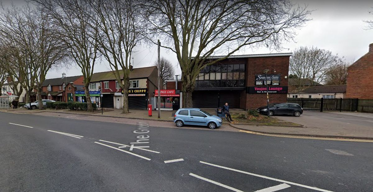 The row of shops on The Green in Darlaston. Photo: Google