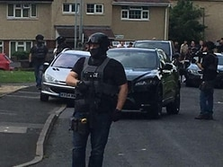 Four firearm arrests as armed police swoop in Wolverhampton