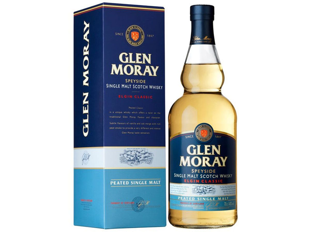Glen Moray Classic Peated Malt Whisky