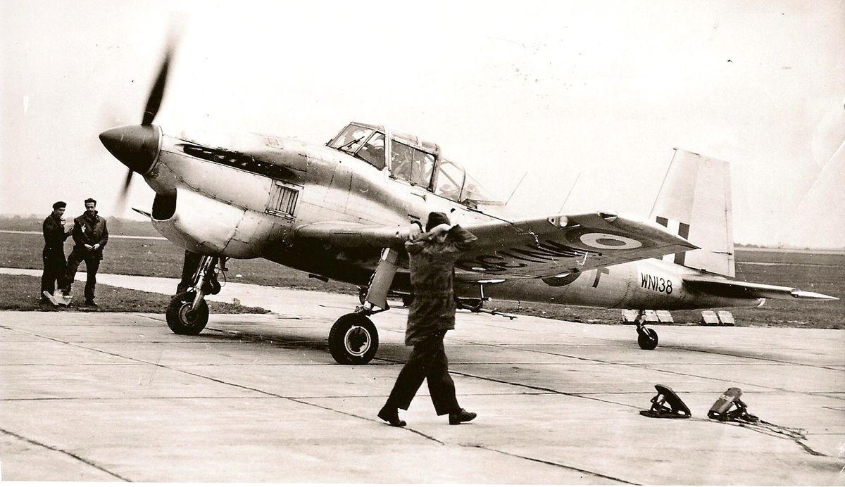 A Balliol in RAF service